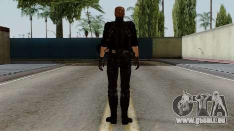 Wesker Midnight pour GTA San Andreas troisième écran