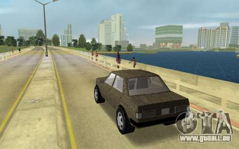 Designer-Serie - Admiral für GTA Vice City linke Ansicht
