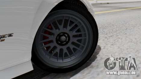 GTA 5 Banshee pour GTA San Andreas sur la vue arrière gauche