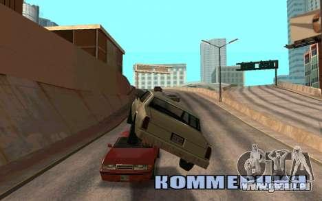Veh Jump für GTA San Andreas zweiten Screenshot