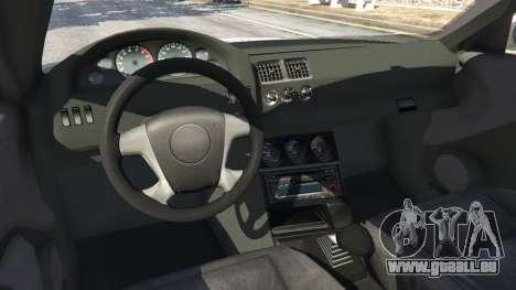 GTA 5 BMW M3 GTR E46 PJ3 rechte Seitenansicht