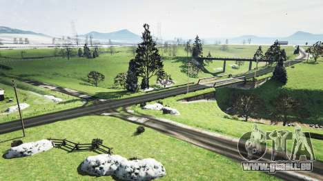 GTA 5 North Yankton sans neige v1.1 quatrième capture d'écran