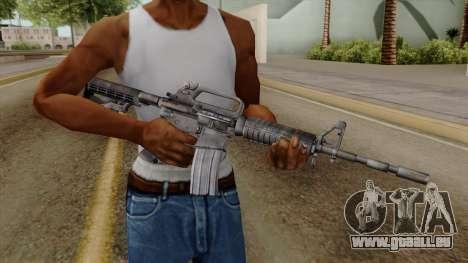 Original HD M4 für GTA San Andreas dritten Screenshot