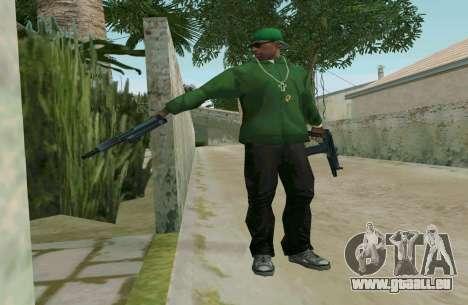 L'AKS-74U pour GTA San Andreas cinquième écran