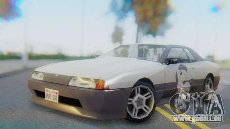 Elegy Octavia Pony Vinyl für GTA San Andreas