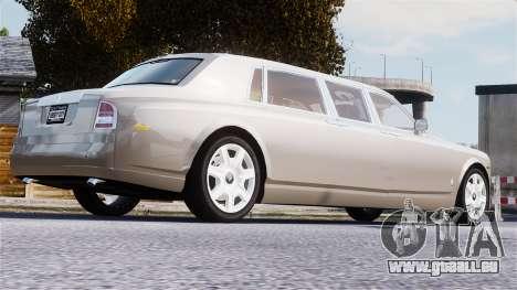 Rolls-Royce Phantom LWB für GTA 4 obere Ansicht