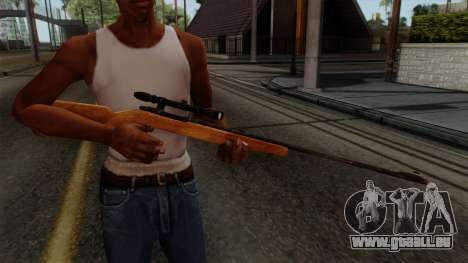 Original HD Sniper Rifle pour GTA San Andreas