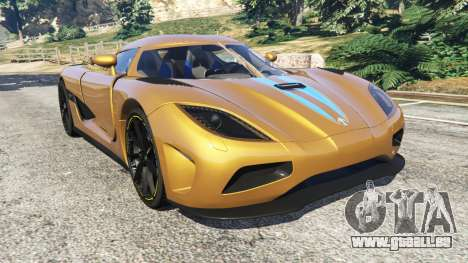 Koenigsegg Agera v0.8 [Early Beta] für GTA 5