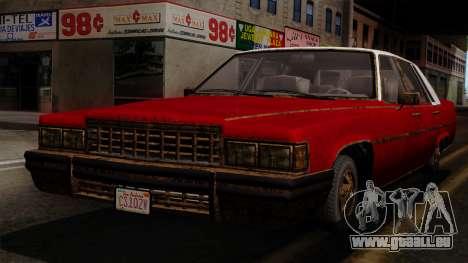 GTA 5 Albany Emperor Worn IVF pour GTA San Andreas