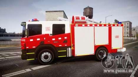 Scania 94D 260 Victorian CFA [ELS] pour GTA 4 est une gauche