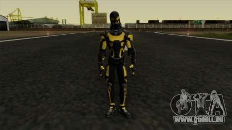 Ant-Man Yellow Jacket pour GTA San Andreas deuxième écran