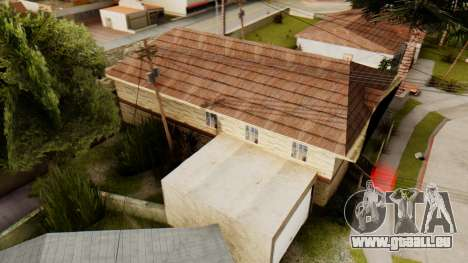 New House for CJ für GTA San Andreas dritten Screenshot