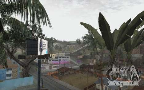 Les arbres à partir de WarFace pour GTA San Andreas cinquième écran
