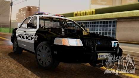 Police SF 2013 für GTA San Andreas