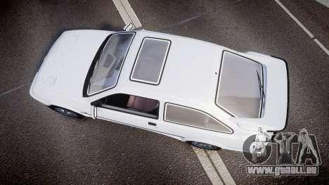 Ford Sierra RS500 Cosworth für GTA 4 rechte Ansicht