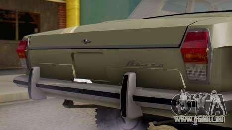 GAZ 24-95 pour GTA San Andreas vue arrière
