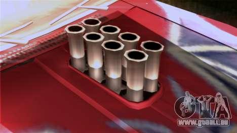 Ford Falcon XA Red Bat Mad Max 2 für GTA San Andreas Rückansicht