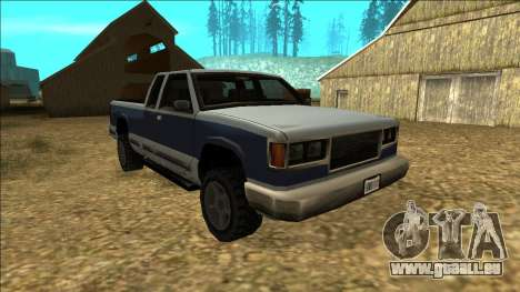 New Yosemite v2 pour GTA San Andreas vue arrière
