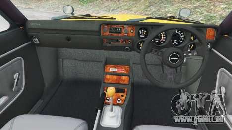 GTA 5 Nissan Skyline 2000 GT-R 1970 v0.3 [Beta] rechte Seitenansicht