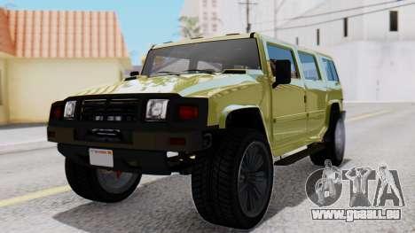 GTA 5 Patriot Dirt pour GTA San Andreas
