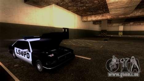 Nouveau LSPD Parking pour GTA San Andreas