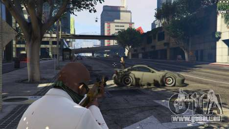 GTA 5 Strapped Peds