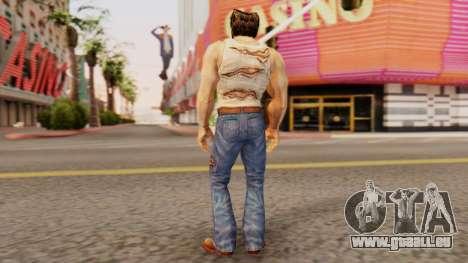Wolverine v1 pour GTA San Andreas troisième écran