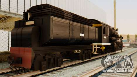 CC5019 Indonesian Steam Locomotive v1.0 pour GTA San Andreas laissé vue