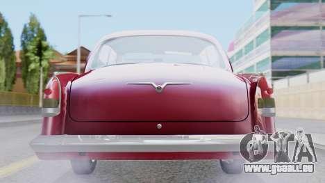 GAZ 21 Volga v3 pour GTA San Andreas vue intérieure