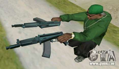 L'AKS-74U pour GTA San Andreas quatrième écran