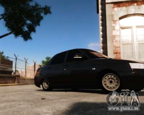 VAZ 2110 pour GTA 4 Vue arrière de la gauche
