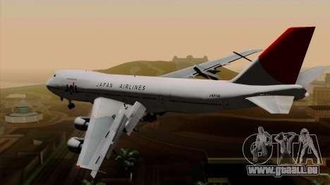 Boeing 747 JAL pour GTA San Andreas laissé vue