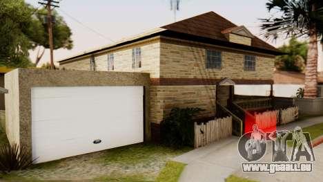 New House for CJ für GTA San Andreas zweiten Screenshot