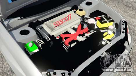 GTA 5 Subaru Impreza WRX STI 2005 hinten rechts
