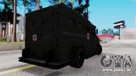 GTA 5 Enforcer Raccoon City Police Type 1 pour GTA San Andreas laissé vue