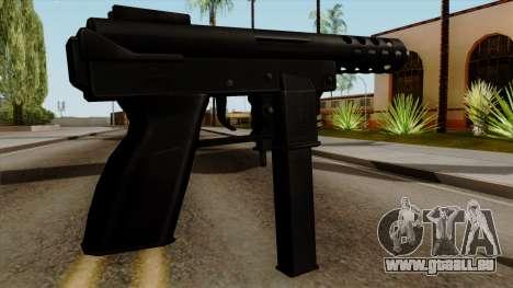 Original HD Tec9 für GTA San Andreas zweiten Screenshot