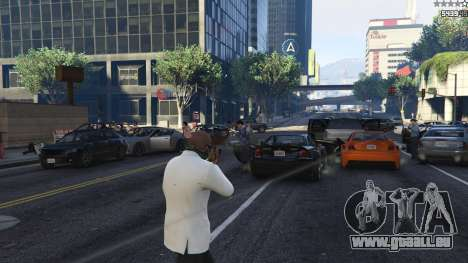 Strapped Peds pour GTA 5