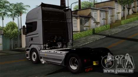 Scania R730 Streamline 4x2 pour GTA San Andreas laissé vue