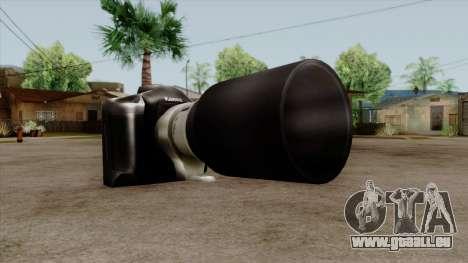 Original HD Camera pour GTA San Andreas