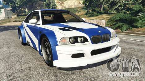 BMW M3 GTR E46 Most Wanted pour GTA 5
