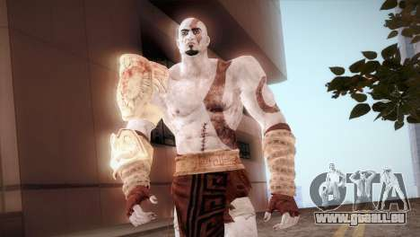 God Of War 3 Kratos pour GTA San Andreas troisième écran
