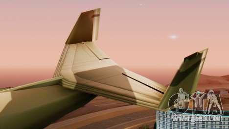 Le Stormtrooper. pour GTA San Andreas vue de droite