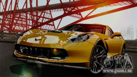 Chevrolet Corvette Z06 1.0.1 pour GTA San Andreas