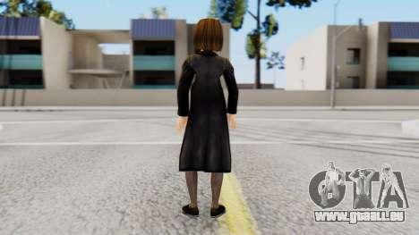 Lara Croft Child pour GTA San Andreas troisième écran