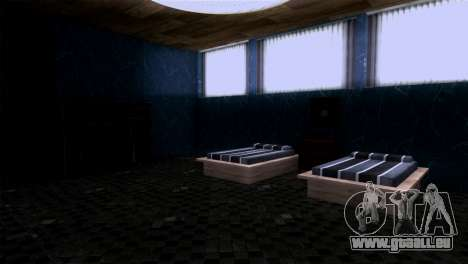 Reprojeter l'intérieur du manoir de MADD Dogg pour GTA San Andreas cinquième écran