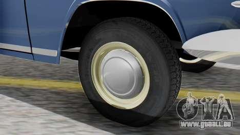 GAZ 21 Volga v1 pour GTA San Andreas sur la vue arrière gauche