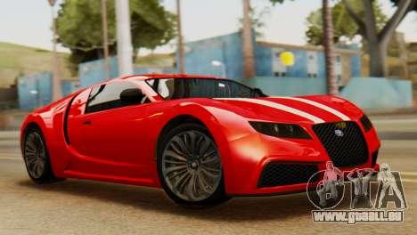 GTA 5 Adder Secondary Color Tire Dirt für GTA San Andreas