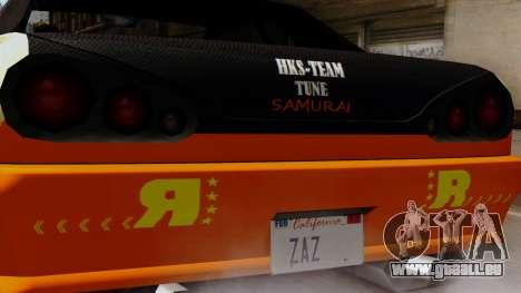Vinyl für Elegy - Driften Samurai für GTA San Andreas zurück linke Ansicht