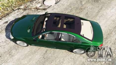 Mercedes-Benz S500 W221 v0.3.1 [Alpha] pour GTA 5