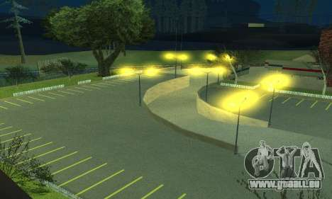 La compagnie pétrolière LUKOIL pour GTA San Andreas quatrième écran